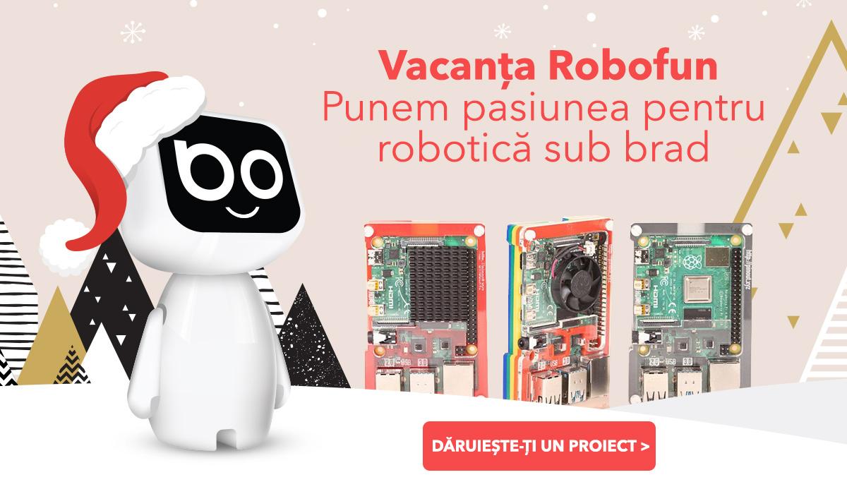 Proiecte robotica Piese Robotica Robofun