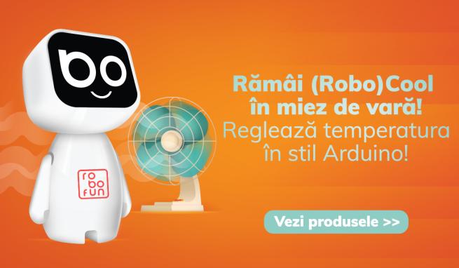 Proiect Robofun Arduino Kit Arduino