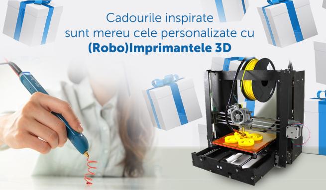 Imprimante 3D pentru cadouri personalizate