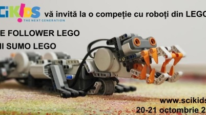 Competitie roboti Lego