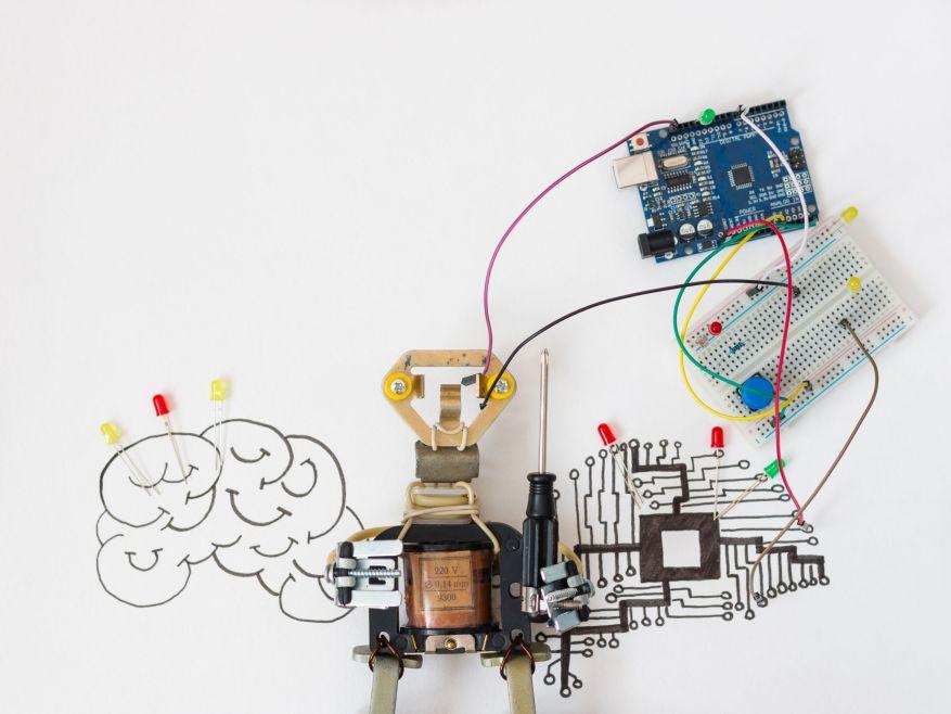 construirea unui robot simplu