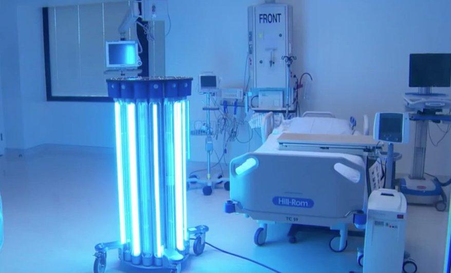 robot laser uv